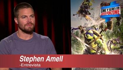 """A solas con Stephen Amell de """"Tortugas Ninja 2: Fuera de las sombras"""" por Javier Ponzone"""