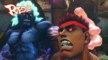 Super Street Fighter IV Arcade Edition - Evil Ryu vs Oni