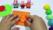 Kid Toys - Create Clay Biscuit VS Cookie Rainbow With Peppa Pig Español 2016#4