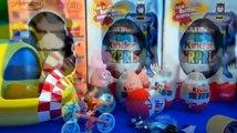 Peppa Pig Œufs Géants Surprise – Nouveau Peppa Pig s En anglais Jouets Unboxing Kinder S