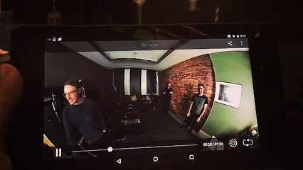 testing vr at youtube space