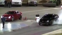 2014 DRAG RACE Insane Cadillac CTS V Quarter Mile Run