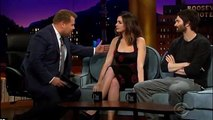 James Corden mocks The Late Late Show guest Anne Hathaway for 'awful British accent'