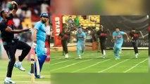 Usain Bolt vs Yuvraj Singh running race | Usain bolt playing cricket with Yuvraj Singh