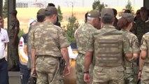 Şehit Polis Memuru Yıldız ve Jandarma Uzman Çavuş Öngün İçin Tören