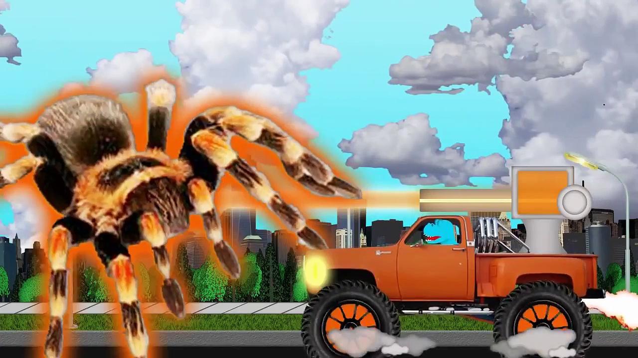 Monster Trucks for Children   Monster Trucks Songs for Kids   Monster Trucks Cartoon