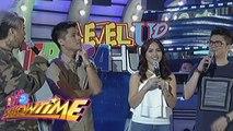 It's Showtime: Paul Jake Castillo and Kaye Abad play TrabaHula!
