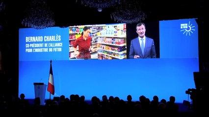 Intervention de Bernard Charlès - Alliance pour l'industrie du Futur