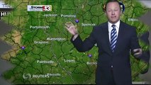 Weatherman Freaks Out On Live TV After Seeing Spider (Video)