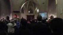 Christmas eve @ The Emmanuel Church in Jerusalem (24.12.15, Old city, Jerusalem)