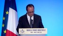 Archive - Discours de François Hollande pour l'anniversaire de la Nouvelle France Industrielle