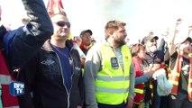Loi Travail: le dépôt pétrolier de Donges évacué dans le calme