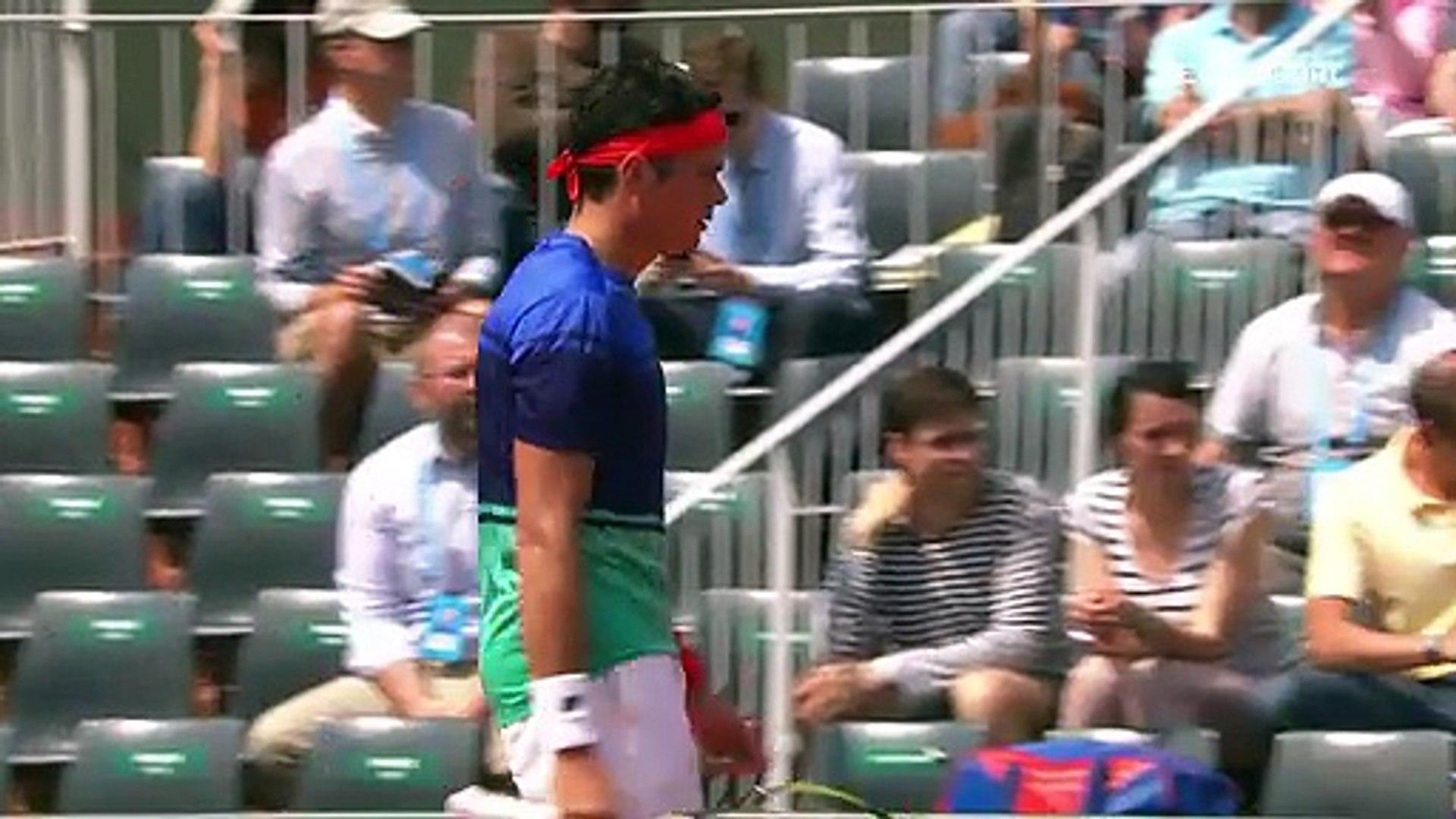 Roland Garros: Milos Raonic - Andrej Martin (ÖZET)