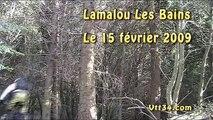 Vtt34.com - Descente à Lamalou les Bains (15 février 2009)
