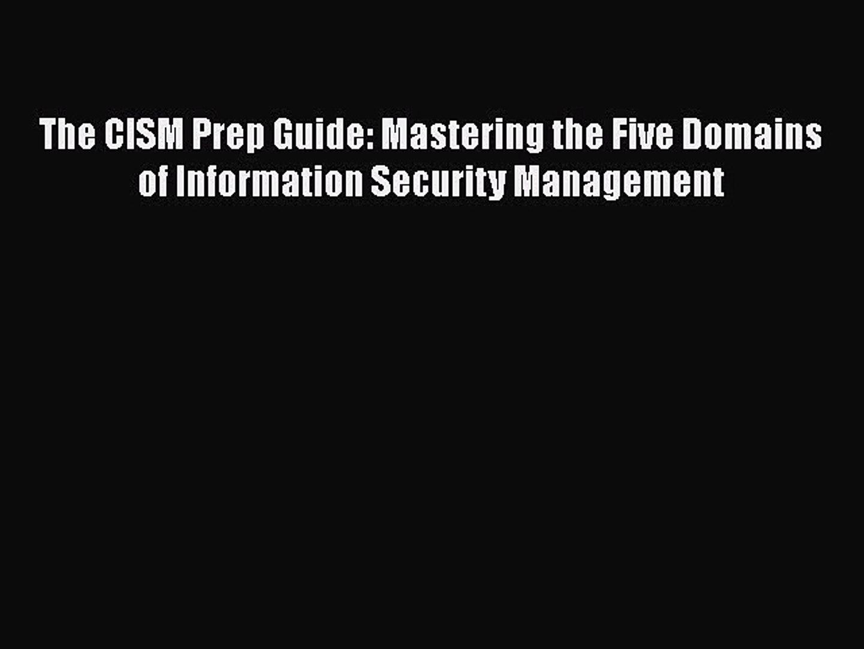 94% CISM Pass Rate!