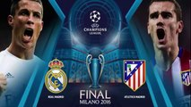 Live ! Real Madrid VS Atletico Madrid FINAL UEFA Champions League (28-05-2016) Live !