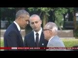 BBC 現職のアメリカ大統領として、オバマ氏が原爆で破壊された広島を訪問しました。 現地報告-大井真理子記者