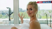 Margot Robbie Takes on a Bubble Bath for Charity on Red Nose Day