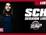 Session live de SCH dans Planète Rap