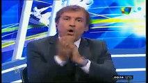 Show del futbol: Alaluf se pelea con Vilouta porque ataca siempre a bianchi 24/8/2014