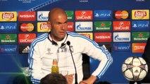 Finale - Zidane : ''Si l'on perd, cela ne sera pas un échec''