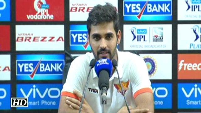 IPL 9 Qualifier SRH vs GL Bhuvneshwar Kumar Reacts On The Win