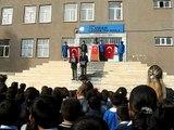 15 Nisan ilköğretim okulu 10 Kasım Atatürk ü anma töreni - 1