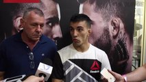 Thomas Almeida dismisses recent action outside the cage, ready to do his talking inside the Octagon..m4v