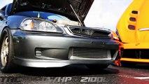 K24 All Motor Civic VS Turbo Integra GRUDGE MATCH - video
