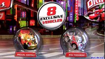 8 Micro Drifters Metallic Finish Cars 2 Miguel Camino, Mater Lightning McQueen Shu Todoroki toys