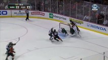 Darcy Kuemper amazing save on Corey Perry , March 1 2013