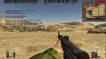 Battlefield 1942 (Vers. 1.61 Multiplayer). Aberdeen. Battle of Tanks. Gameplay (Full).