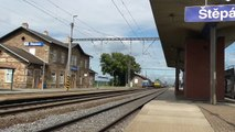 162.006-1 ZSSK mimořádně nasazena na vlaku EC 221 Fatra