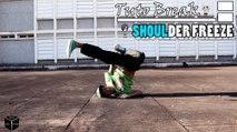 TutoBreak - Les Bases en Freezes : Comment faire Le Freeze Épaule - Par Bboy Block
