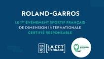 #RG16 : Roland-Garros, un tournoi éco responsable