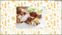 Recipe Prosciutto, goats cheese and capsicum parcels