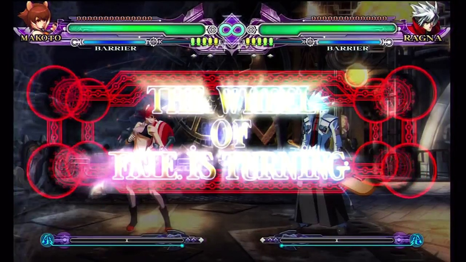Blazblue Continuum Shift Extend - Yoko (Makoto) vs Gintoki (Ragna) (11 Dec  2012)
