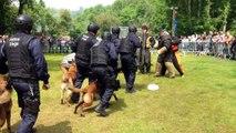 Inauguration des nouveaux locaux de la Brigade canine de la Police de Liège