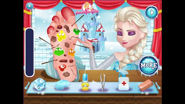 Frozen Princess Games ♥ Frozen Princess Elsa ♥ Elsa Foot Doctor Game
