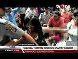 Eksekusi 90 Rumah di Manado Ricuh