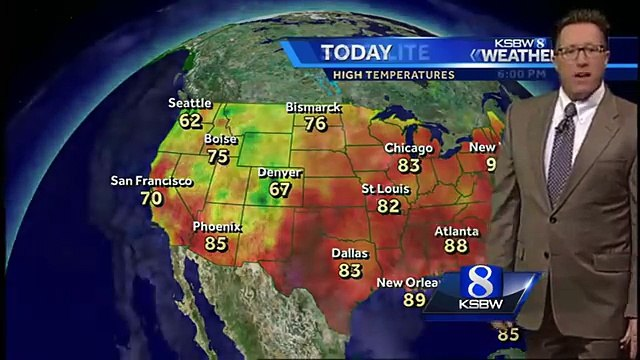 Get Your Thursday Evening KSBW Weather Forecast 5.26.16