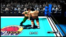 Virtual Pro Wrestling 64  Power Warrior vs Hiroyoshi Tenzan