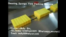 Cleaning sponge packing machine,Sponge scouring pad packing machine