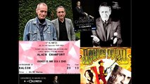 "Alain Chamfort : ""Deux poignards bleus"" live, 25 mars 2016 Olympia (texte Jacques Duvall)."