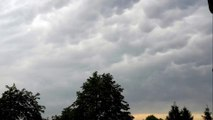 Amazing Mammatus clouds Full HD