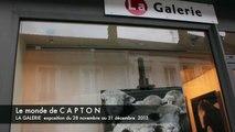 exposition CAPTON à LA GALERIE de Mortagne au Perche du 28 novembre au 31 décembre 2013