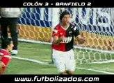 Colón 3 - Banfield 2. Clausura Argentino 2008.