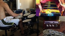 Heroes Of Time by Dragonforce Rockband 3 Expert Drums Sightread Playthrough