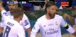 Sergio Ramos Goal - Real Madrid 1-0 Atletico Madrid - Champions League FINAL - 28/05/2016