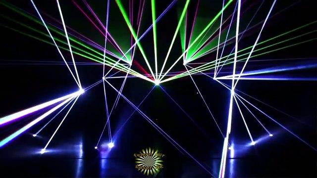 kurze Ausschnitte international prämierter Lasershows (fürs Video mit freier Musik unterlegt)